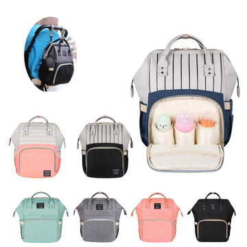 Large Capacity Diaper Bag - QAS KID  STORE