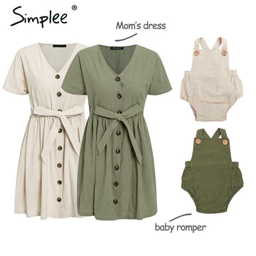 baby romper family outfits - QAS KID  STORE