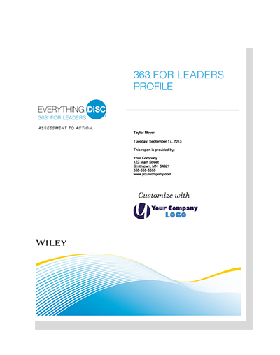 Everything DiSC 363® for Leaders Profile