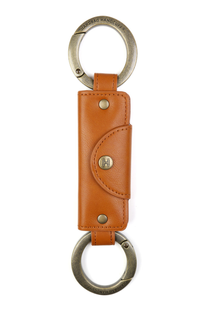 Handbag Handcuff® - Saddle