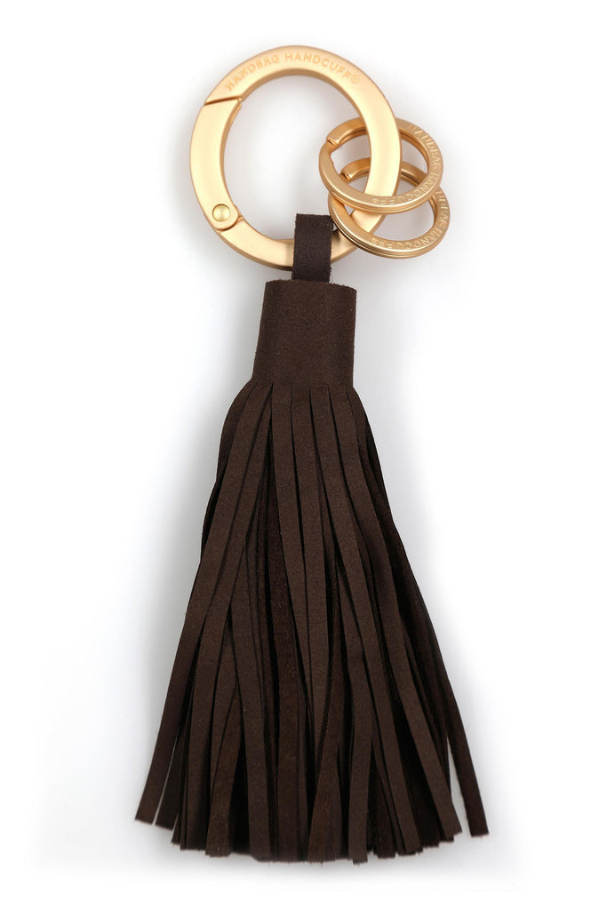 Tassel Key Chain - Brown (Chocolate)