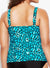 LA QUINTA FLARED TANKINI TOP