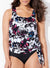 GENOA SIDE TIE BLOUSON TANKINI TOP