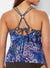 MYSTICAL LOOP STRAP TANKINI SET