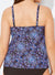 ENCHANTED CUP SIZED TIE FRONT UNDERWIRE TANKINI TOP