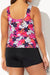 WILDFLOWER CLASSIC TANKINI WITH BANDED SHORT
