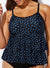 PINPOINT TIERED TANKINI TOP