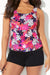 WILDFLOWER CLASSIC TANKINI WITH BANDED SHORT - allconsort