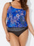 MYSTICAL LOOP BLOUSON TANKINI SWIMSUIT