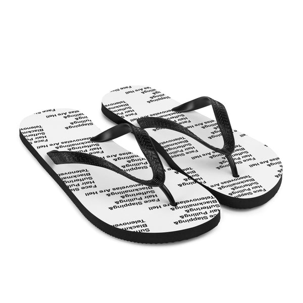 Telenovelas Are Hell List Flip Flops