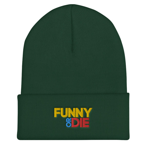 Funny Or Die Stacked Logo Beanie