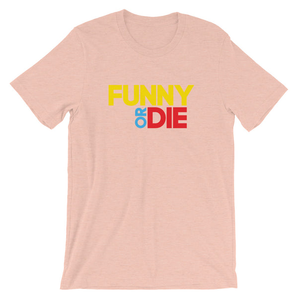 Funny Or Die Stacked Logo Tee