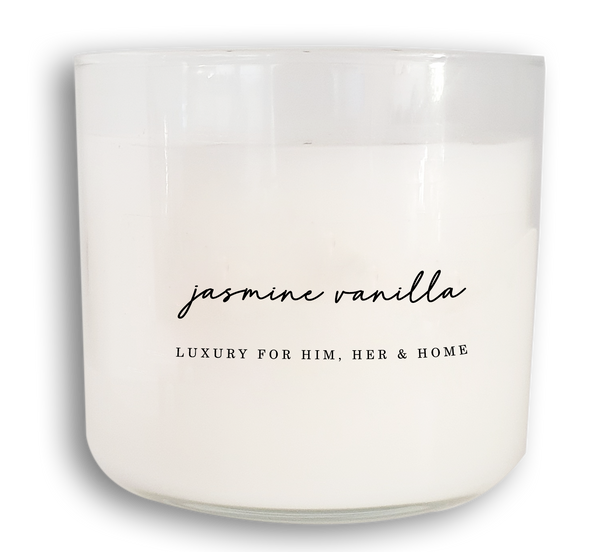 Jasmine Vanilla - Black Luxe Candle Co.