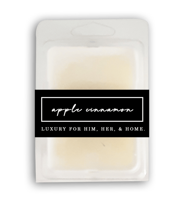 Apple Cinnamon Wax Melt - Black Luxe Candle Co.