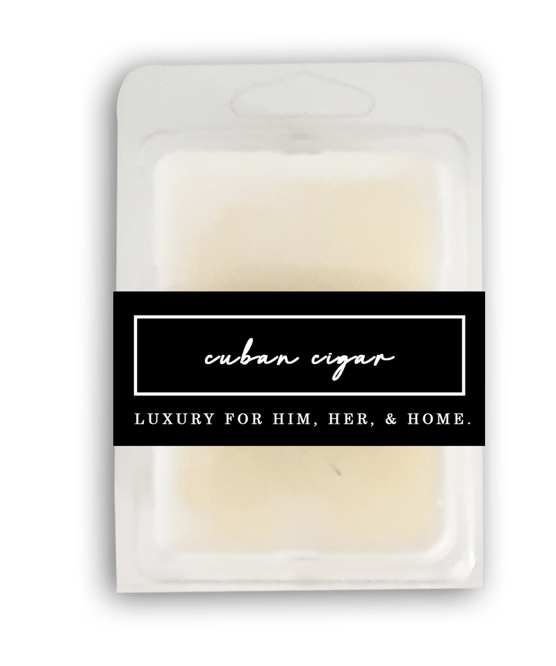 Cuban Cigar Wax Melt - Black Luxe Candle Co.