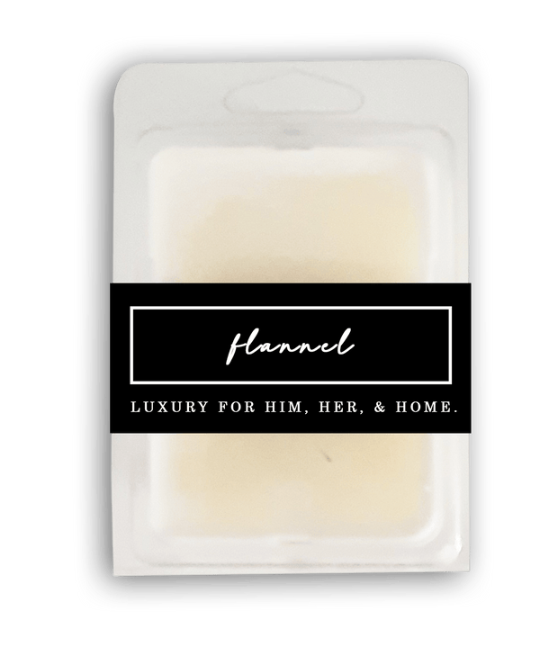 Flannel Wax Melt - Black Luxe Candle Co.