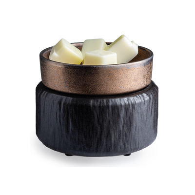 2-IN-1 Wax & Candle Warmer - Black Luxe Candle Co.