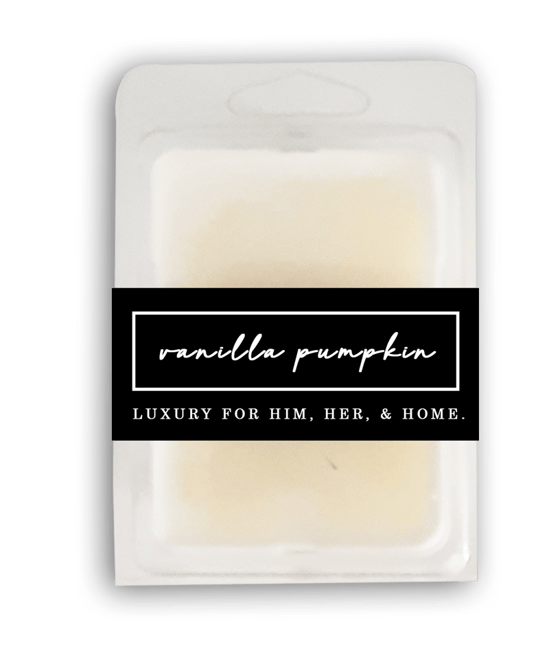 Vanilla Pumpkin Wax Melt - Black Luxe Candle Co.