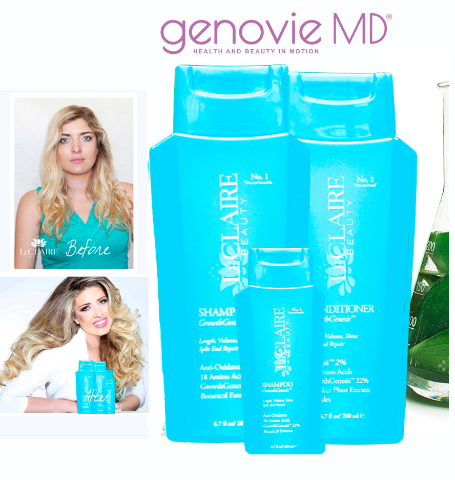 Growth Genesis 3 Pc HAIR GROWTH KIT