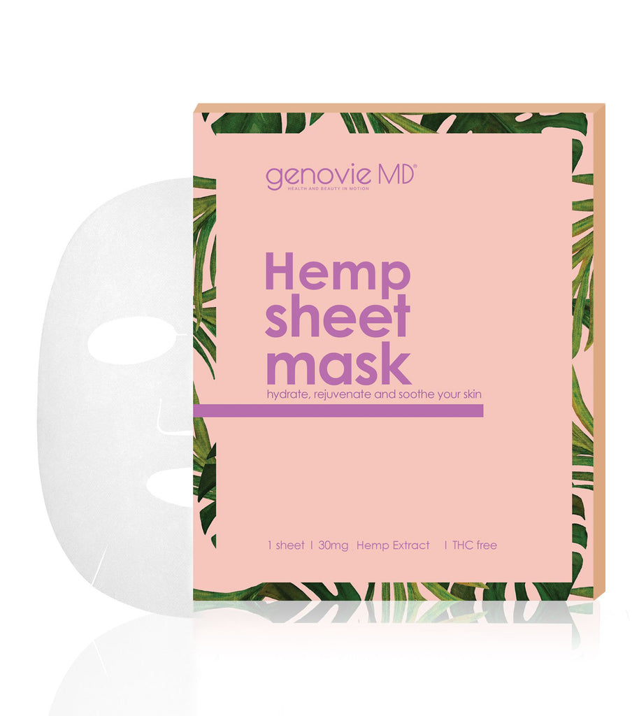 Hemp Sheet Masks 5 pc