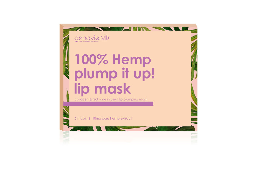 Hemp PLUMP IT UP: LIP MASK 5pc