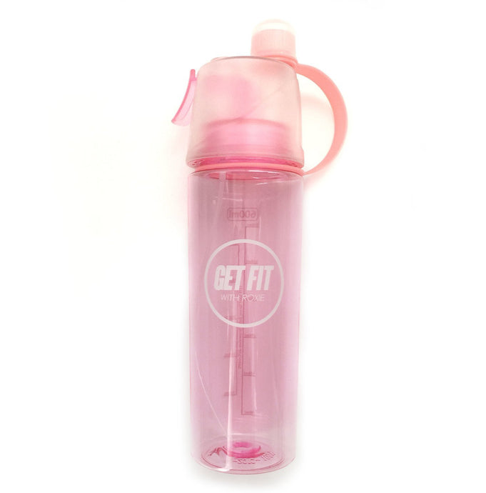 Water Bottle with Mist Spray