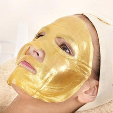 Load image into Gallery viewer, Gold Collagen Facial Masks + Hyaluronic Acid