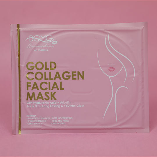Gold Collagen Facial Masks + Hyaluronic Acid