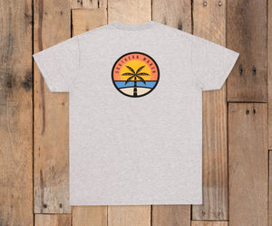 Southern Marsh Sunset Palm Tee