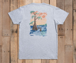 Southern Marsh Southern Horizons Cypress Tee