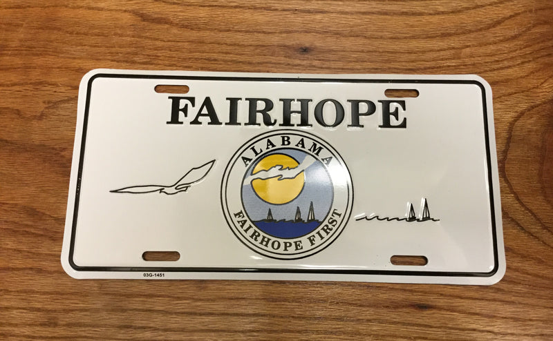 License Tag - F'hope City Crest