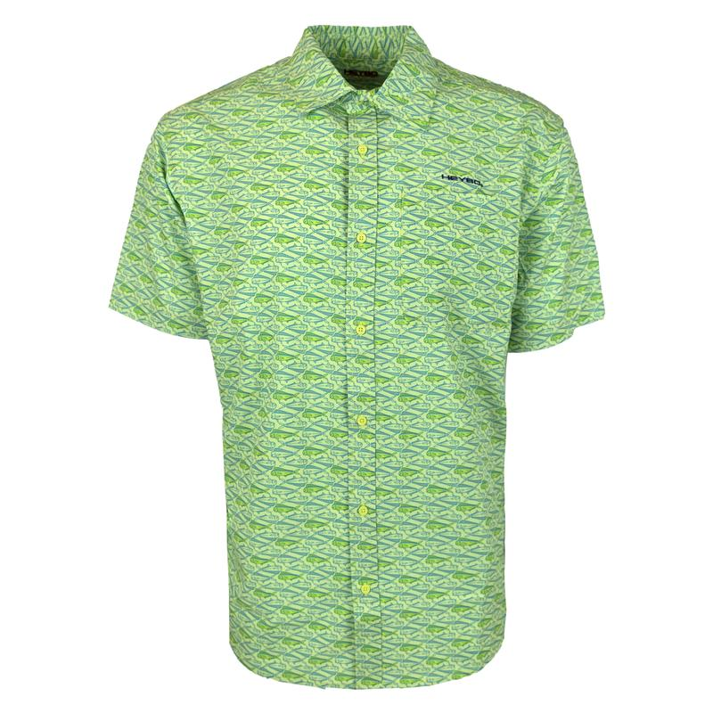 Lime with Mahi Hopper Shirt