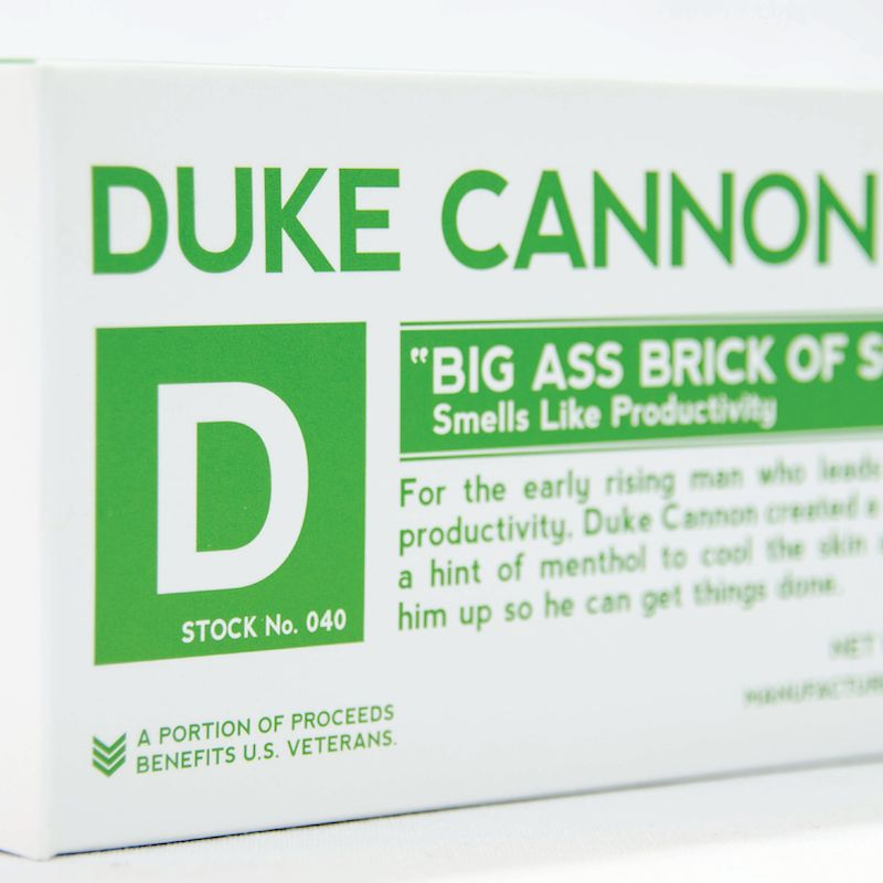 Productivity Big Ass Bar of Soap by Duke Cannon