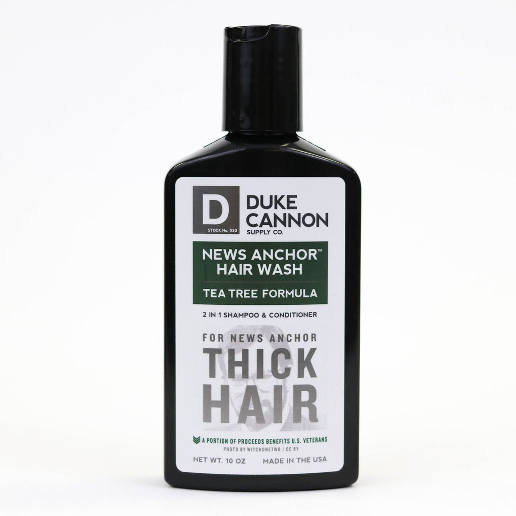 Tea Tree News Anchor Hair Wash by Duke Cannon