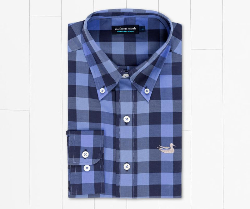 Southern Marsh Jalisco Gingham Dress Shirt