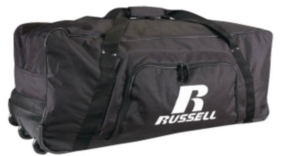 Russell Athletic 3- Wheeled Gear Bag
