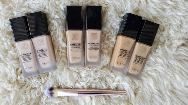 Nanacoco Professional Liquid Foundation and Liquid Foundation Brush