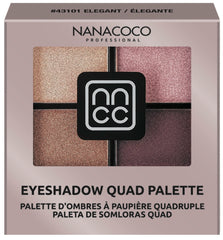 Nanacoco Professional Eyeshadow Quad, Elegant, 2019 Billboard Music Awards