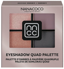 Nanacoco Professional Eyeshadow Quad Palette, 2019 Billbaord Music Awards, Smoky