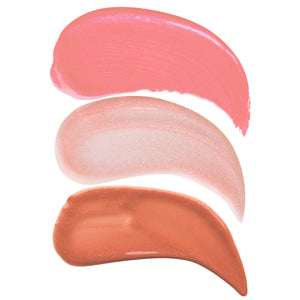 Sun kissed Summer Lip Gloss Trio Swatches