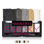 Nanacoco Six Shade Eyeshadow Palette available in 4 different variants
