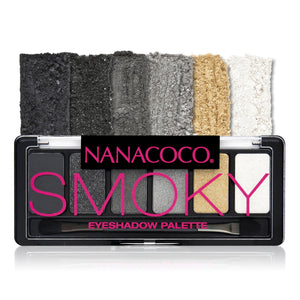 Six Shade Eyeshadow Palette Smoky
