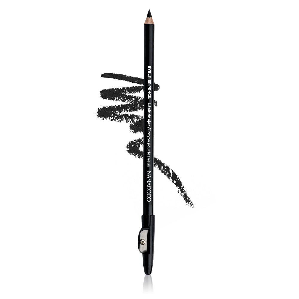 "Eye Pencil w/sharpener 7"" Black"