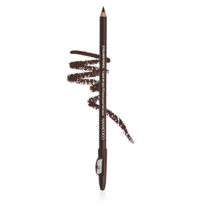 "Eye Pencil w/sharpener 7"" Dark Brown"