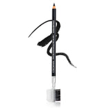 "Eye Pencil w/Eyebrow Brush & Comb 7"" Black"