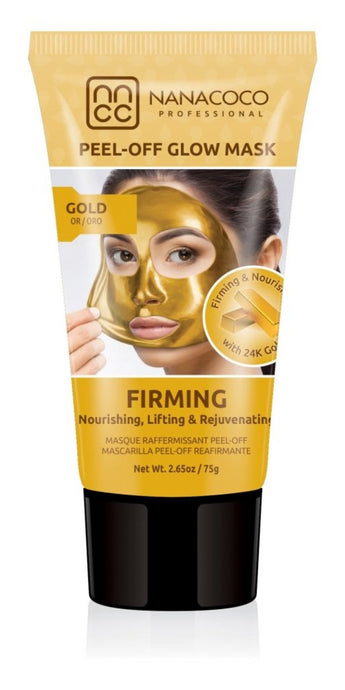 24K Gold Firming Peel Off Glow Mask Gold