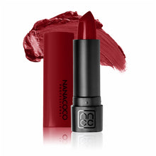Load image into Gallery viewer, Luxe Lip Lipstick Red Riches Warm Medium Red