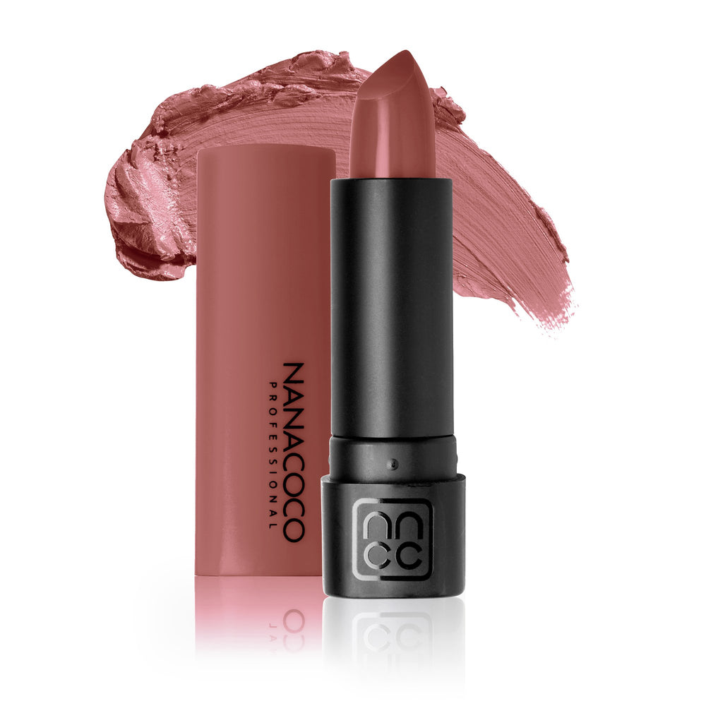 Luxe Lip Lipstick Tea Party Medium Pink-Brown