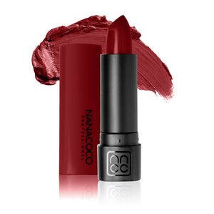 Luxe Lip Lipstick Cranberry Cool Toned Medium Red