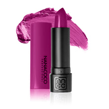 Load image into Gallery viewer, Luxe Lip Lipstick Electric Feel  Shimmery Bright Magenta